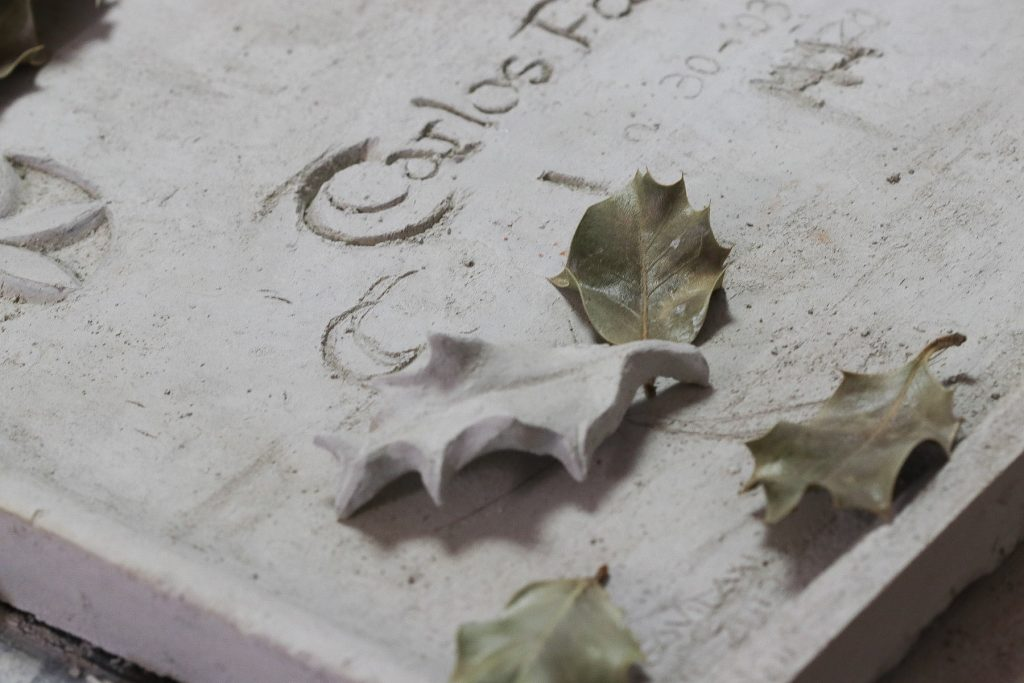 Cristina GAvilán. Escultora. Obra funerària